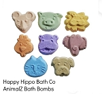 Happy Hippo Bath Co AnimalZ Bath Bomb